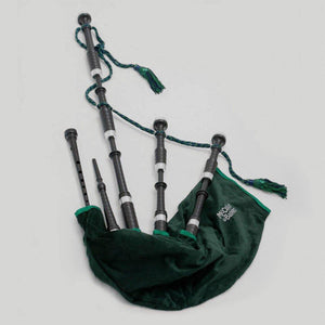 McCallum Bagpipes P1 Set (Black Acetal) - Kilberry Bagpipes