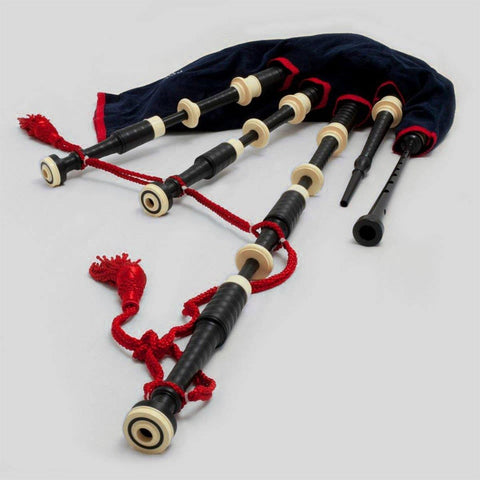 McCallum Bagpipes P3 Set (Black Acetal)