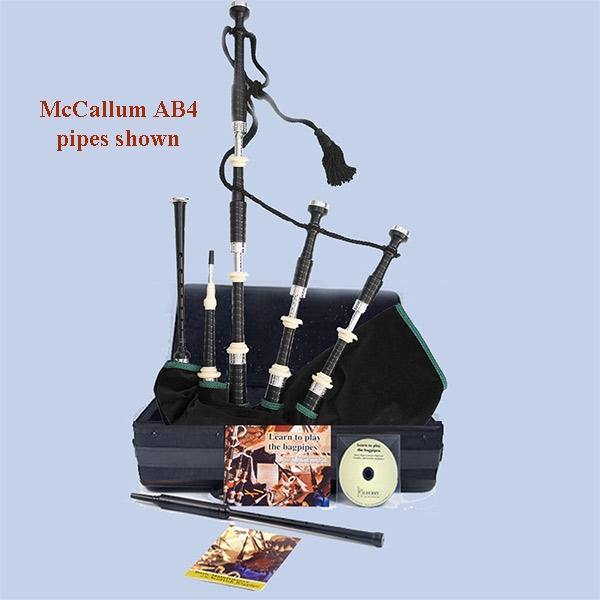 McCallum Bagpipes (Engraved Sets) - Packages