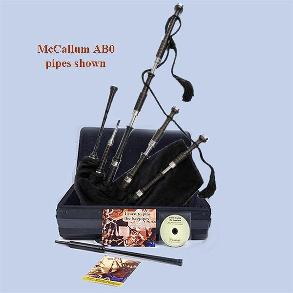 McCallum Bagpipes (Non-Engraved) - Package - Kilberry Bagpipes