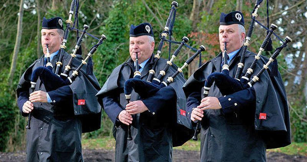 Band Spec Rain Cape - Kilberry Bagpipes