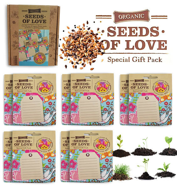 GREETING CARDS SEED PACKETS blanck