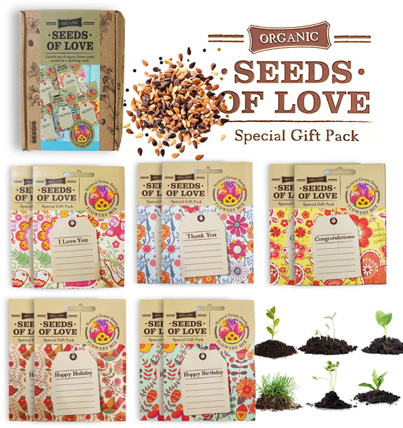 GREETING CARDS SEED PACKETS