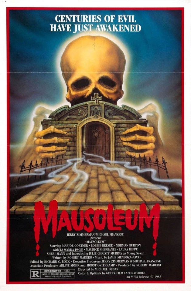 Mausoleum Hot Movie Rare Horror Silk Poster Art Bedroom Decoration 0532