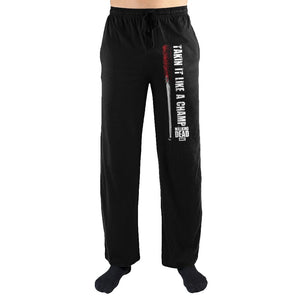 The Walking Dead Takin It Like A Champ Print Men's Loungewear Pajama pjs Pants (THIS ITEM SHIPS FROM AND ONLY TO USA)