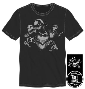 Jack SKellington shirt (THIS ITEM SHIPS FROM AND ONLY TO USA)