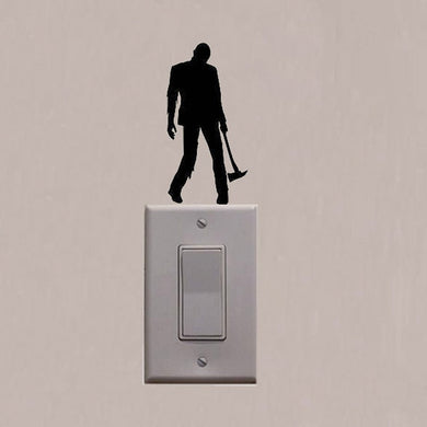 Walking Dead Zombie Horror Fashion Home Decor Wall Decal Vinyl Switch Sticker