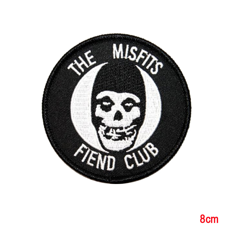 The Misfits Fiend Club  Iron On Patch