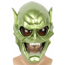 Load image into Gallery viewer, XCOSER New Spider-Man Green Goblin Mask