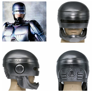 XCOSER Mechanical Police 1987 Movie Cosplay Helmet Robocop