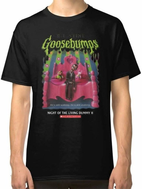 Men'S Short Sleeve Goosebumps T Shirt