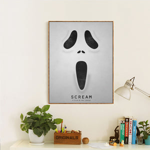Scream Canvas Painting