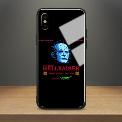 Pinhead hellraiser Horror movie Tempered Glass Soft Silicone Phone Case Shell Cover For Apple iPhone 6 6s 7 8 Plus X XR XS MAX