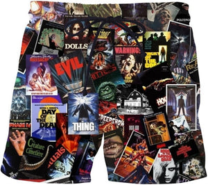 Horror Movie Collage 3D Print apparel (see all styles) (the socks are only size small)