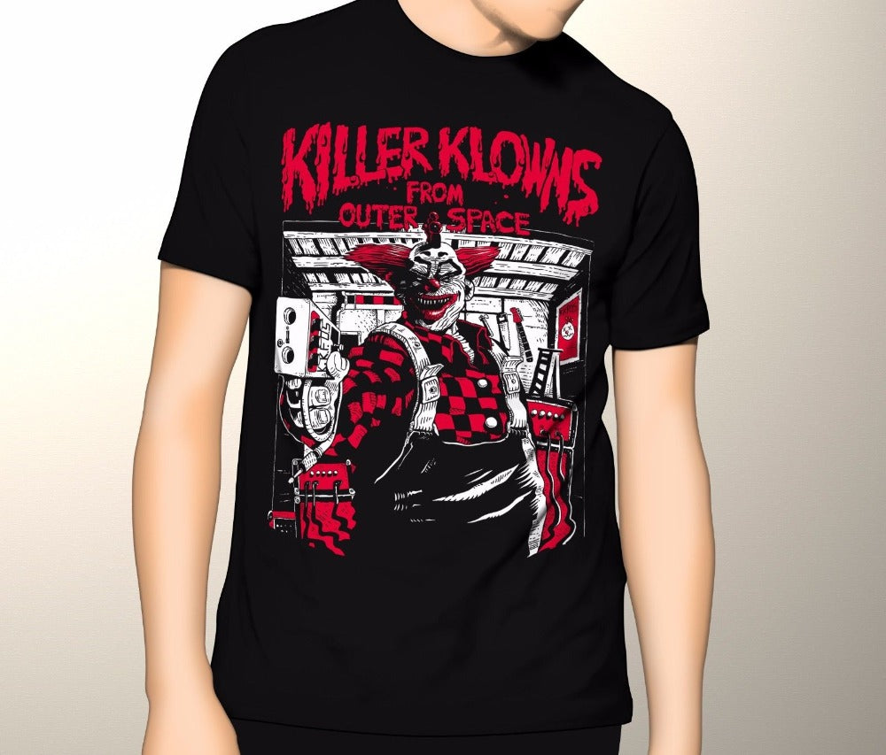 Killer Klowns from Outer Space Shirt, Cult Horror Shirt