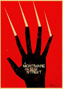 A Nightmare on Elm Street Horror Film posters
