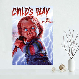 childs play custom Fabric Silk Cloth Posters (See all variants)