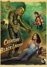 Load image into Gallery viewer, Horror Movie Creature from the black lagoon Retro Posters