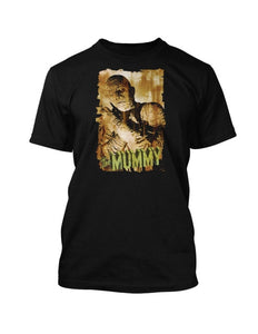 Classic Horror Movie Icons The Mummy Vintage t-shirt