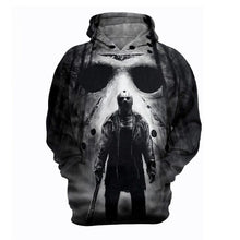 Load image into Gallery viewer, Jason 3D Printed Sweatshirt friday the 13th Horror Movie Hoodies