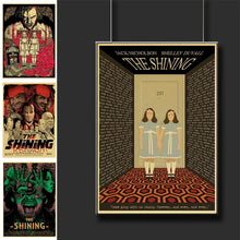 Load image into Gallery viewer, Vintage The Shining Horror Movie Posters