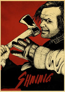 Vintage The Shining Horror Movie Posters