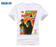 Load image into Gallery viewer, Jason Voorhees 8 Bit Video Game Box Art Cover T Shirt