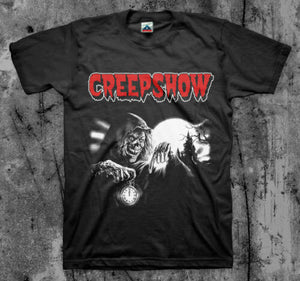 CREEPSHOW- 'Crypt Keeper' - Movie T Shirt (Classic 80's Cult Comedy Horror)