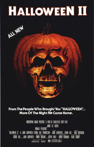HALLOWEEN II 2 Movie Poster Horror Michael Myers Slasher SILK POSTER