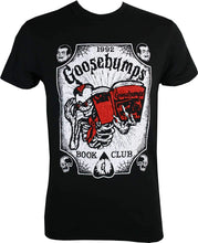 Load image into Gallery viewer, Goosebumps Ouija Book Club Men Brand Clothihng Top Quality Fashion Mens T Shirt 100%Cotton Short Sleeves Top Tee T-shirt