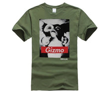 Load image into Gallery viewer, Gremlins Mens T-Shirt - Black and White Gizmo