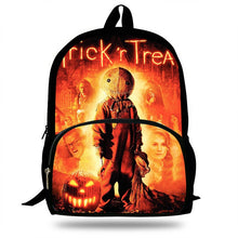 Load image into Gallery viewer, Movie Trick 'R Treat Sam Print Backpack (SEE ALL 5 VARIANTS!)