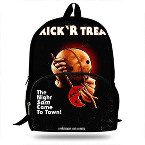 Movie Trick 'R Treat Sam Print Backpack (SEE ALL 5 VARIANTS!)
