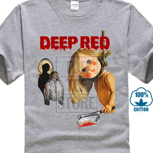 Deep Red T Shirt Dario Argento 1975 Italian Horror