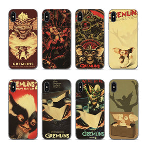 Gremlins Retro Phone Back TPU Cover Case For iPhone 6s 6plus 6 7plus 7 8 8plus 5 5S SE XR XS max phone case