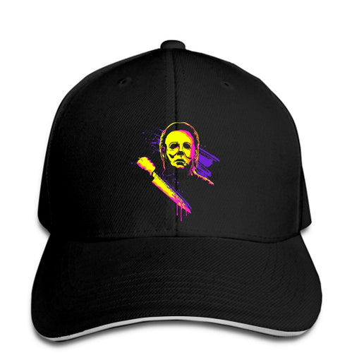 Michael Myers Halloween Neon Horror Movie hat
