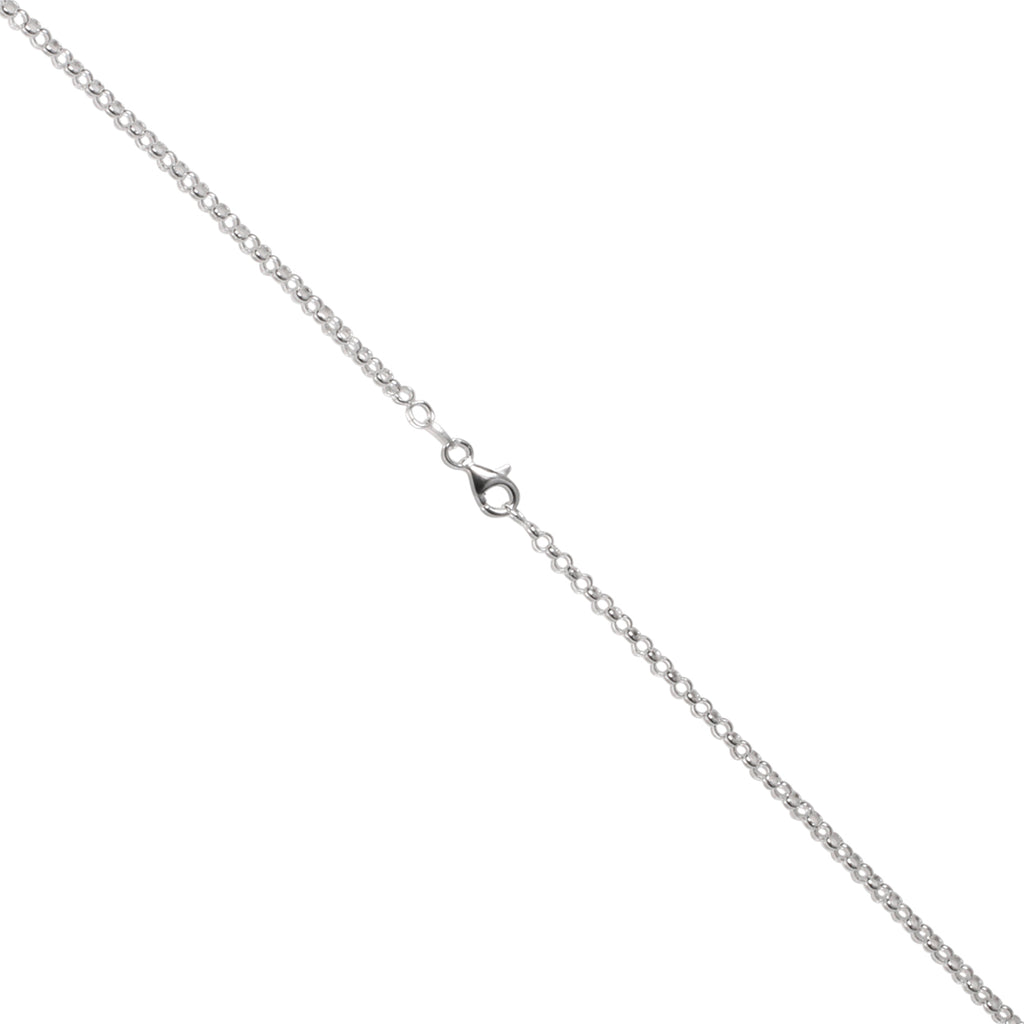Italian Sterling Silver 2.2mm Rolo Chain