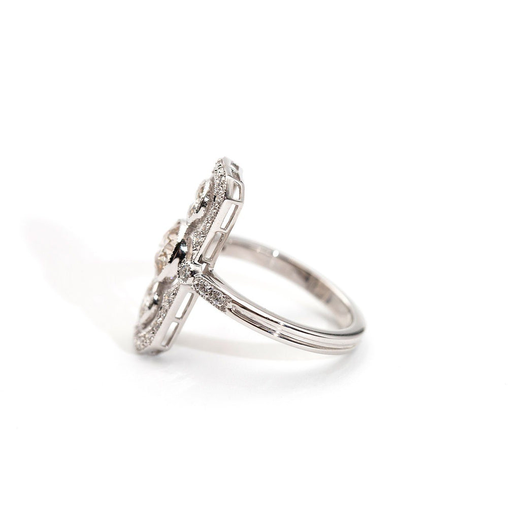 Adelaide Diamond Vintage Ring