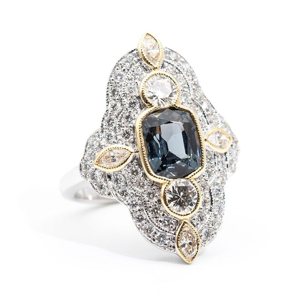 Alivia Spinel & Diamond Ring Ring Imperial Jewellery - Auctions, Antique, Vintage & Estate
