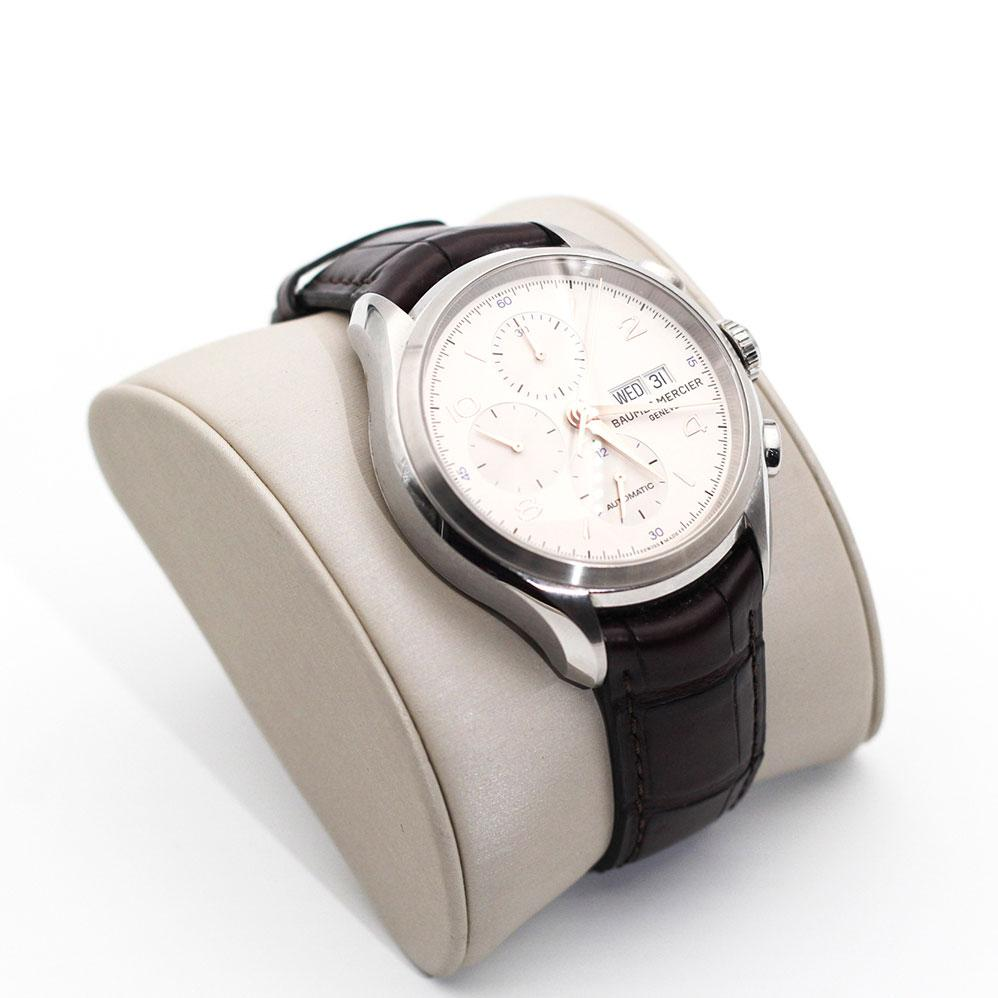 Baume & Mercier Clifton Chronograph Imperial Jewellery - Auctions, Antique, Vintage & Estate