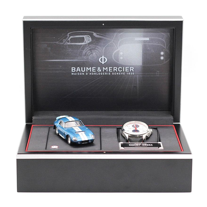 Baume & Mercier Clifton Club Shelby Cobra 1964 Limited Edition Imperial Jewellery - Auctions, Antique, Vintage & Estate