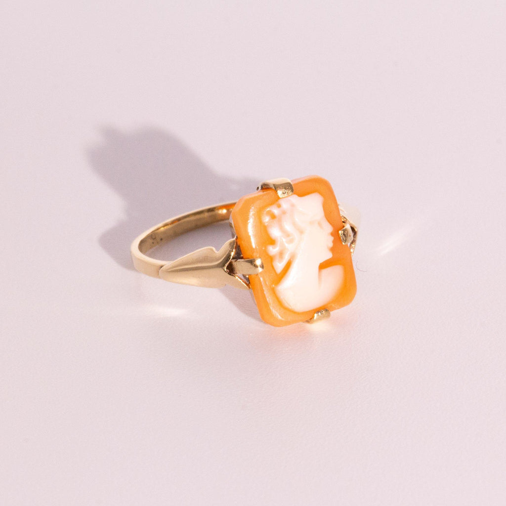Cameo Ring, Antique inspired