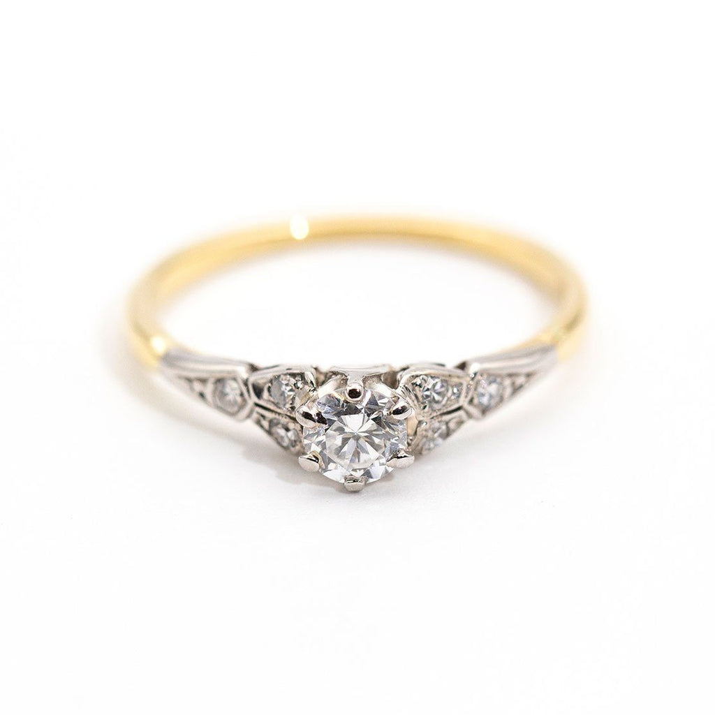 Camille Vintage Diamond Ring