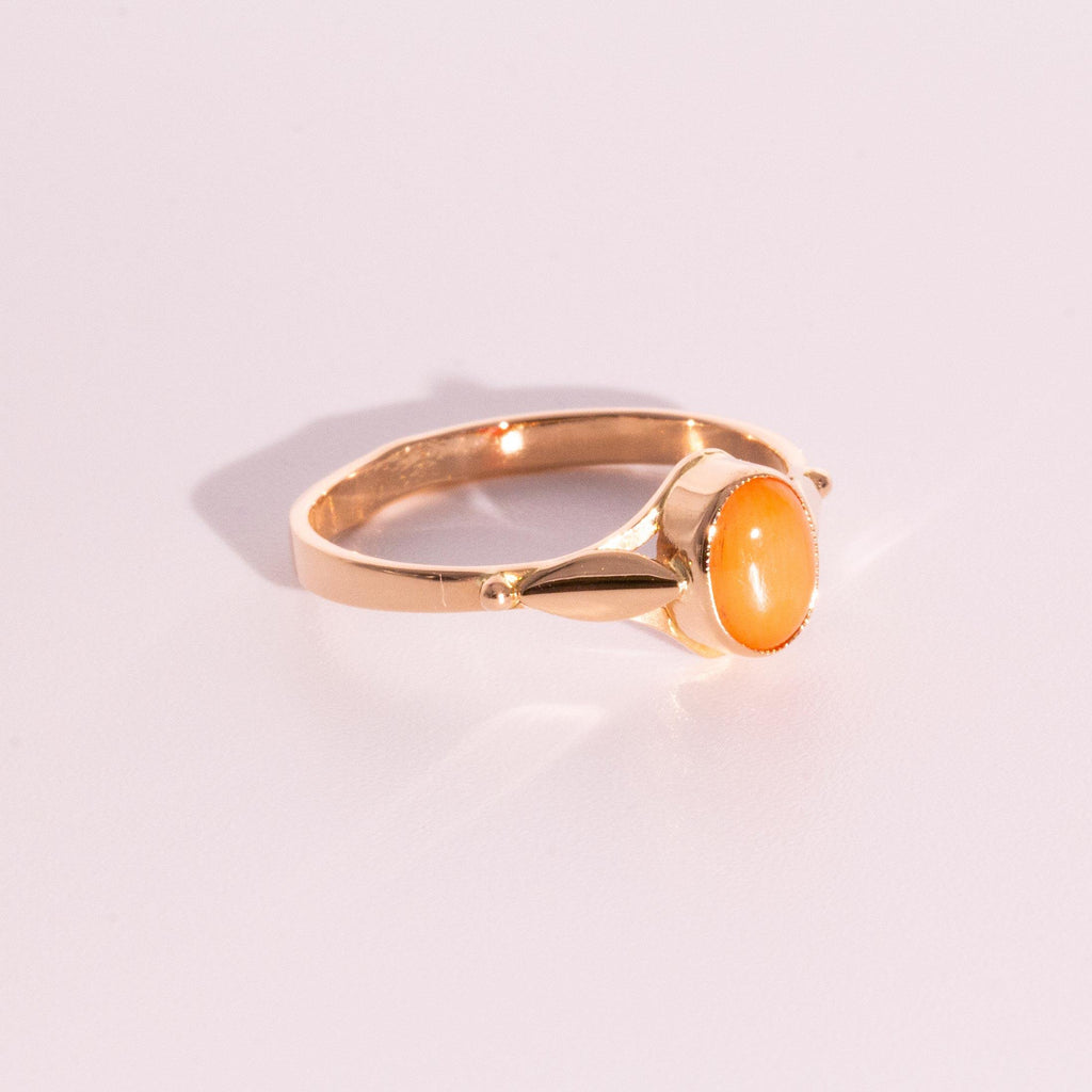 Evelyn Coral Ring
