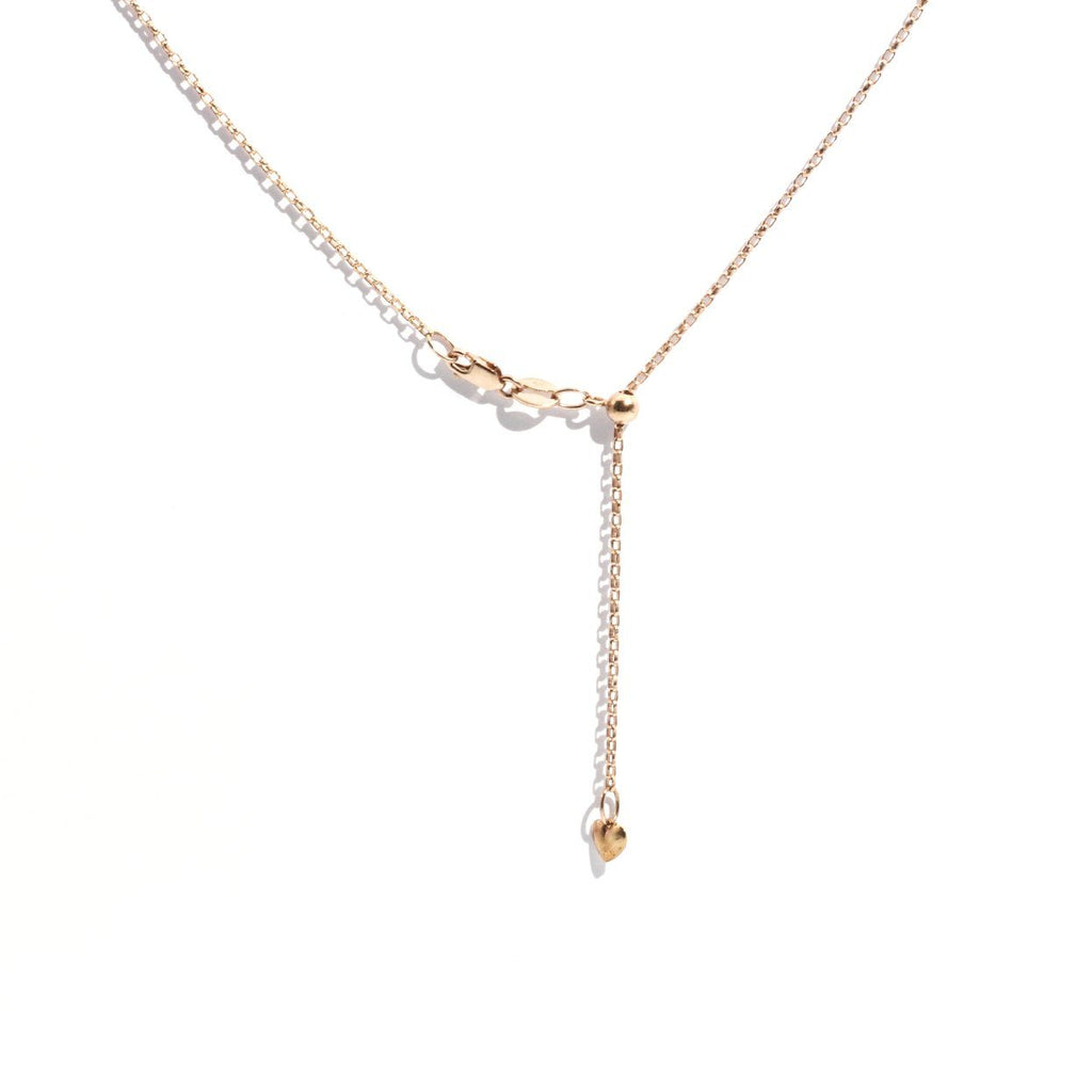 diamond pendant rose gold