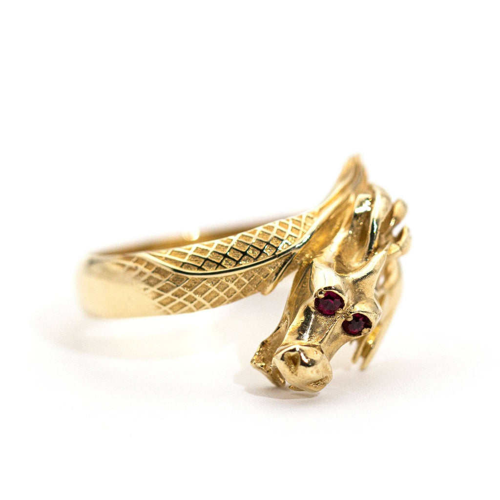 Hamish Dragon Men's Ring