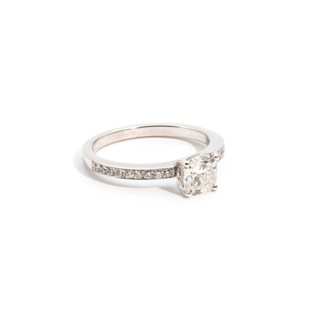 Jayla 1ct GIA Certified Diamond Ring