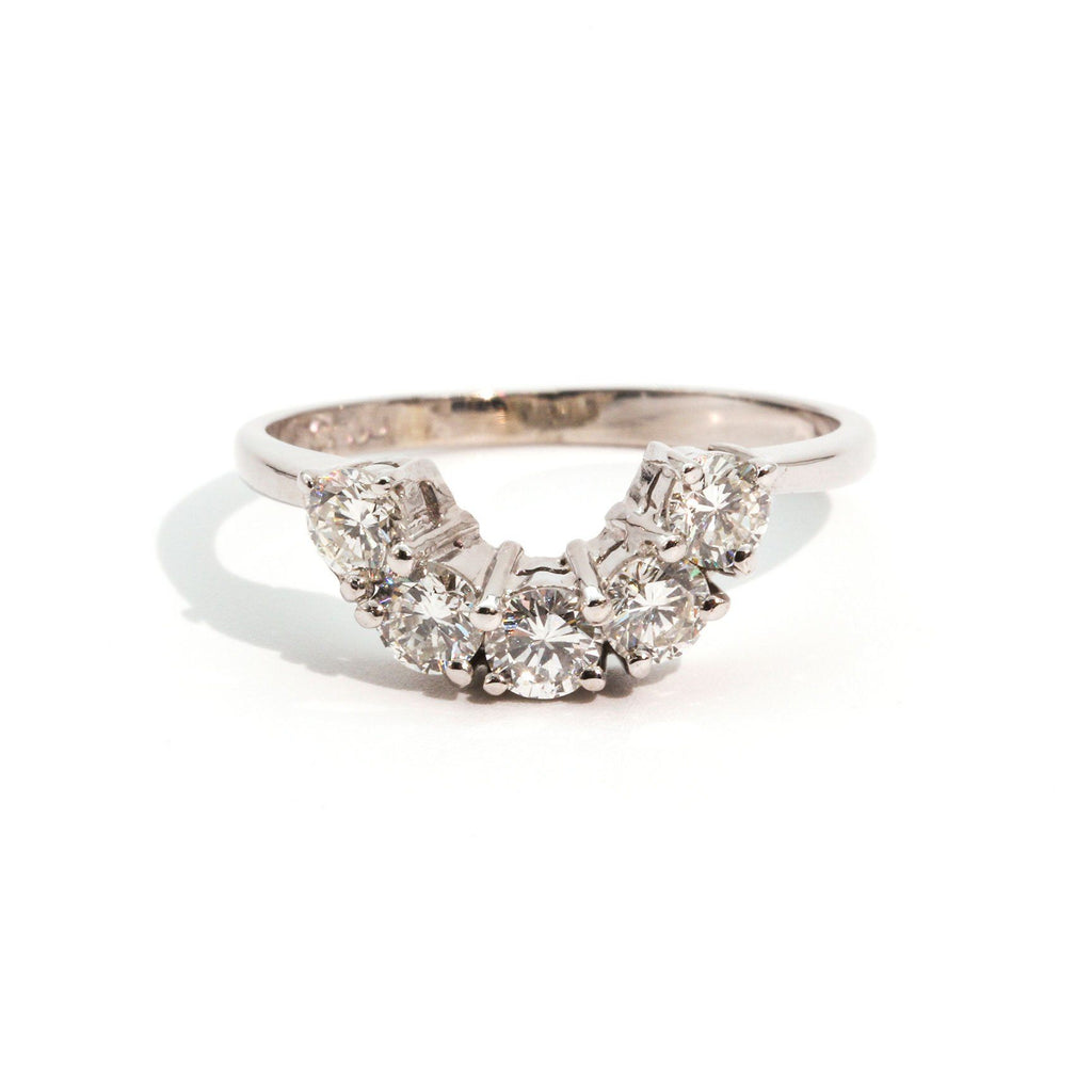 Josie Diamond Vintage RIng Ring Imperial Jewellery - Auctions, Antique, Vintage & Estate