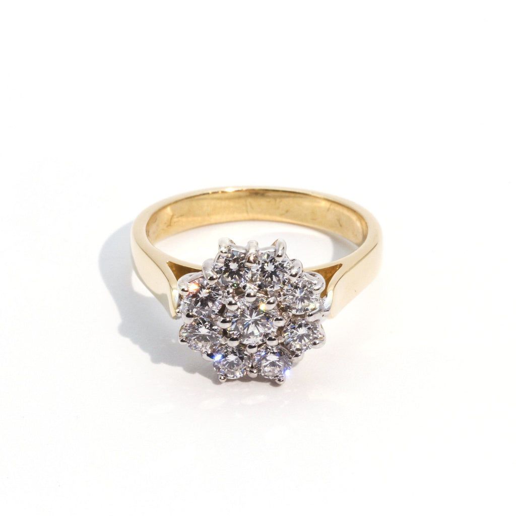 Kimberly 1 Carat Cluster Ring