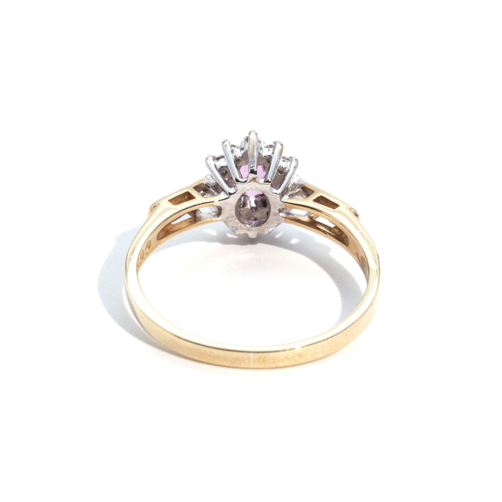 Lauren Ruby & Diamond Ring